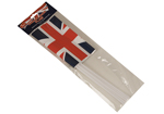Union Jack Plastic Flag with Stick Pack of 5