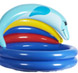 More pictures for Babies 2 Ring Splash Paddling Pool with Dolphin Sunshade
