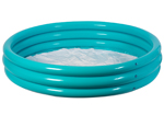 4 ft Inflatable 3 Ring Paddling Pool