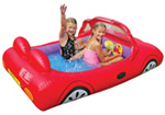 Broom Broom Kids Car Paddling Pool