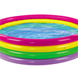 More pictures for Rainbow Coloured 4 Ring Paddling Pool