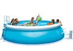 3m Easy Set Paddling Pool with Filter Pump