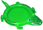 Crocodile Baby Paddling Pool with Spray