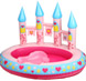 More pictures for Pink Princess Castle Paddling Pool with Hose Spray Canon