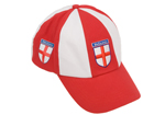 Cotton England Baseball Cap with Embroidered St George Shield
