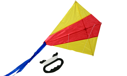 Outdoor Toy Kids Kite Diamond Kite