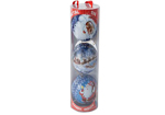 3 x Candy Filled Christmas Baubles