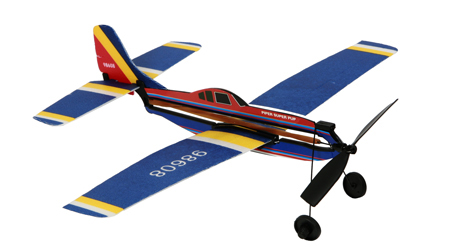 Rubber Band Glider Plane Kit
