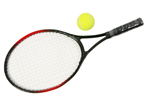 Single Junior Tennis Racket 53cm