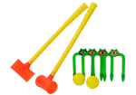 Kids Croquet Clubs Set Game
