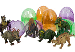 Party Bag Dinosaur Egg Toys with Fearsome Dinosaur