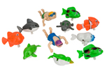 Wind Up BathTime Toys Party Bag Pack