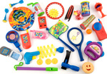 120pc Cheap Kids Party Bag Toys