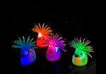 4pc Flashing Puffer Ducks Desk Buddy