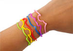 24 Packs Glow Wrist Bandeez for Party Bag Gifts