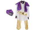 Kids Fancy Dress Aladdin Costume
