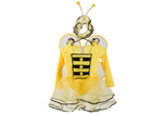 Girls Bumble Bee Fancy Dress Up Costume