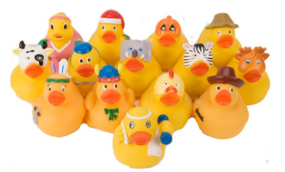 Fancy Dress Rubber Ducks Tombola Prizes Party Bag Gifts
