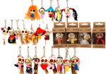 24pc Wooden Voodoo Dolls Keychain Party Bag Gifts