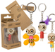 More pictures for Single Wooden Voodoo Doll Keychain