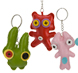 More pictures for Lucky Dip Single Novelty Patch Funny Face Keyring