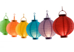 Battery Operated Chinese Paper Lantern
