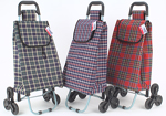 90cm Easy Step Shopping Trolley with Wheels