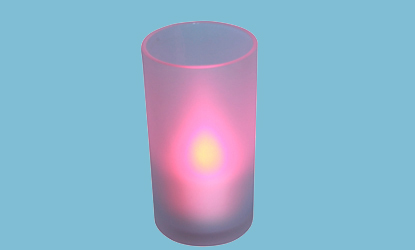 B/op Flickering Colour Change Tealight Candle