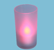 More pictures for B/op Flickering Colour Change Tealight Candle