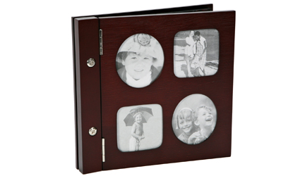 Photo Frame Wood Cover Photo Album
