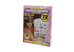 72 Pocket Hanging Jewellery Organiser Pack of 2