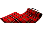 Waterproof Backed Tartan Picnic Blanket