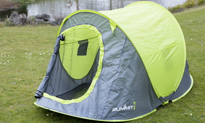Set of 2 Summit Vista 200 2 Berth Pop Up Tents
