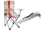 Kids England Camping Chair with Drinks Holder