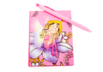 Glitter Fairy Pink Notebook with Pen