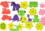 Bumper Pack Kids Crafts Foam Stickers 200pcs