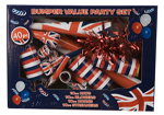 40 Pc Union Jack Value Party Set