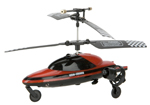 Vehi-Cross Land and Air Mini Indoor RC Helicopter