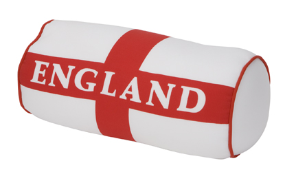 Spandex England Supporters Microbead Cushion