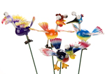 Wacky Bird Garden Ornaments -  fun fete prizes