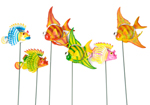 Moving Flying Fish Garden Ornaments