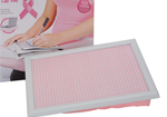Breast Cancer Campaign Pink Gingham Cushion Lap Tray