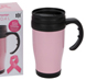 More pictures for Breast Cancer Campaign 400ml Pink Travel Mug