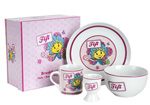 Kids Breakfast Set Ceramic Fifi and the Flowertots Breakfast Set