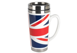 Cool Britannia Pop Art Mod Union Travel Mug 500m