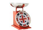 Cool Britannia Union Jack Retro Kitchen Scales