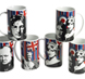 More pictures for Cool Britannia Legends Set of 6 Stripey Mod Mugs