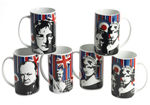 Cool Britannia Legends Mug Set makes a fantasic gift idea!