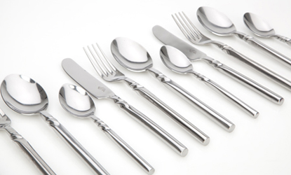 Come Dine with Me 16pc Twist Cutlery Set