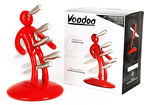 Voodoo Red Knife Block by Raffaele Iannello